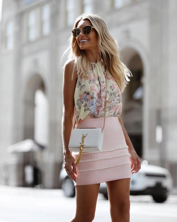 Очаровательные луки с юбками весна-лето 2019-2020: модные фасоны, тренды и новинки