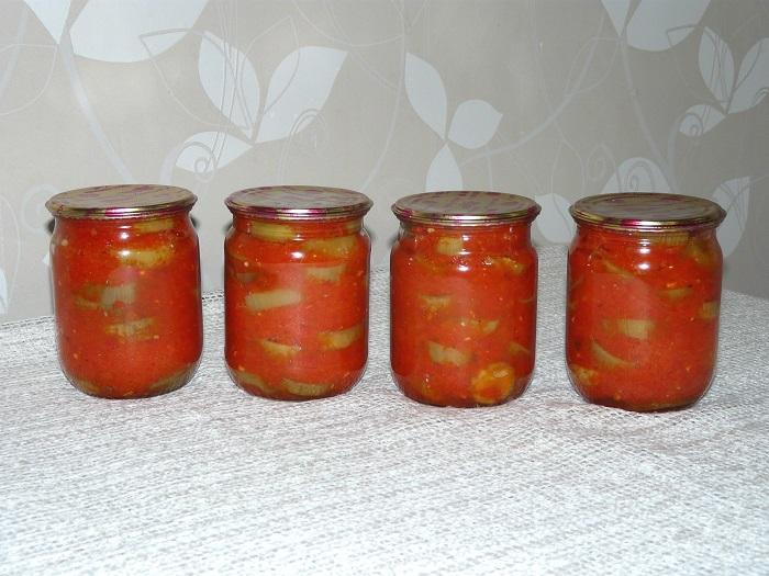 Острые баклажаны в перечном  соусе