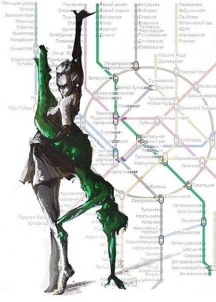 Хуманизация веток московского метро