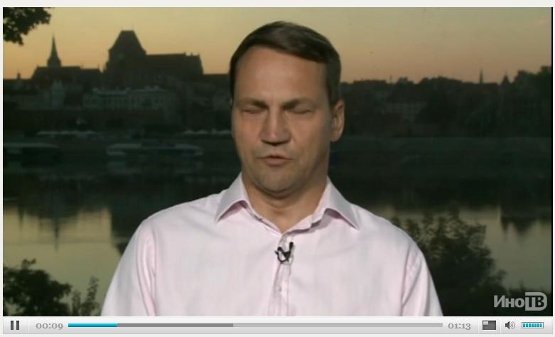 Сикорский рассказал CNN, как победить Путина