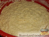 Фото приготовления рецепта: Пасхальный кулич без замеса - шаг №14