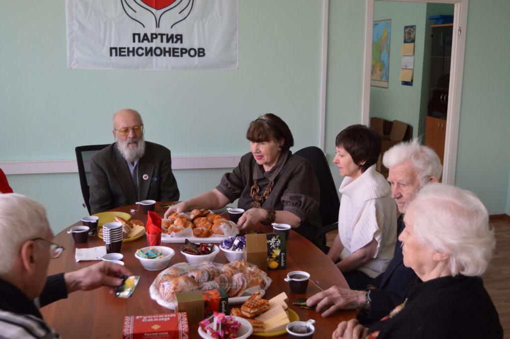 Партия пенсионеров требует л…