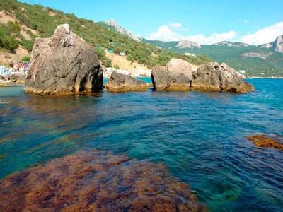 Бухта Ласпи — одно из красивейших мест в Крыму