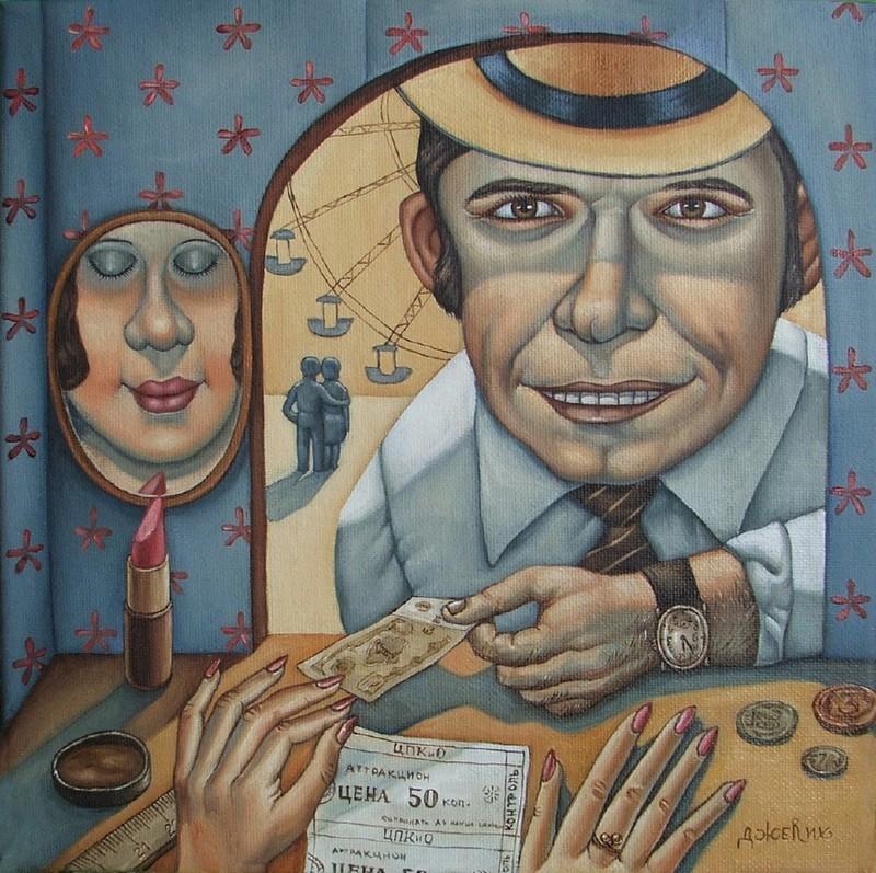 AngelaJerich19 Путешествие в СССР: картины художницы Анжелы Джерих