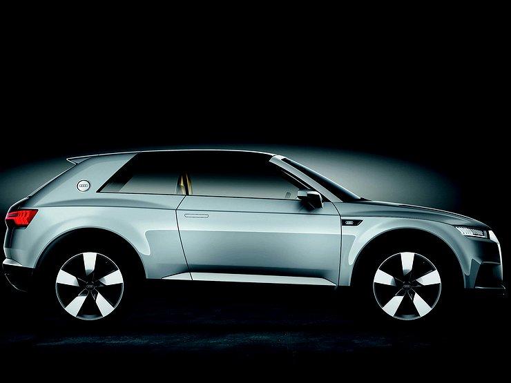 Audi представит дешевый кроссовер