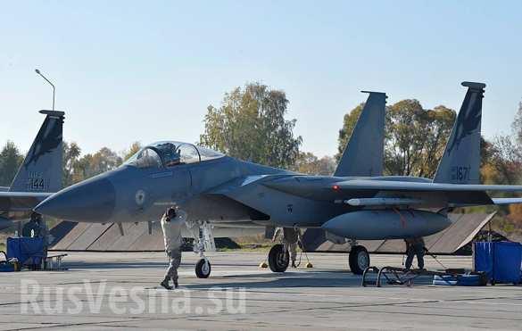 Американские лётчики на Укра…