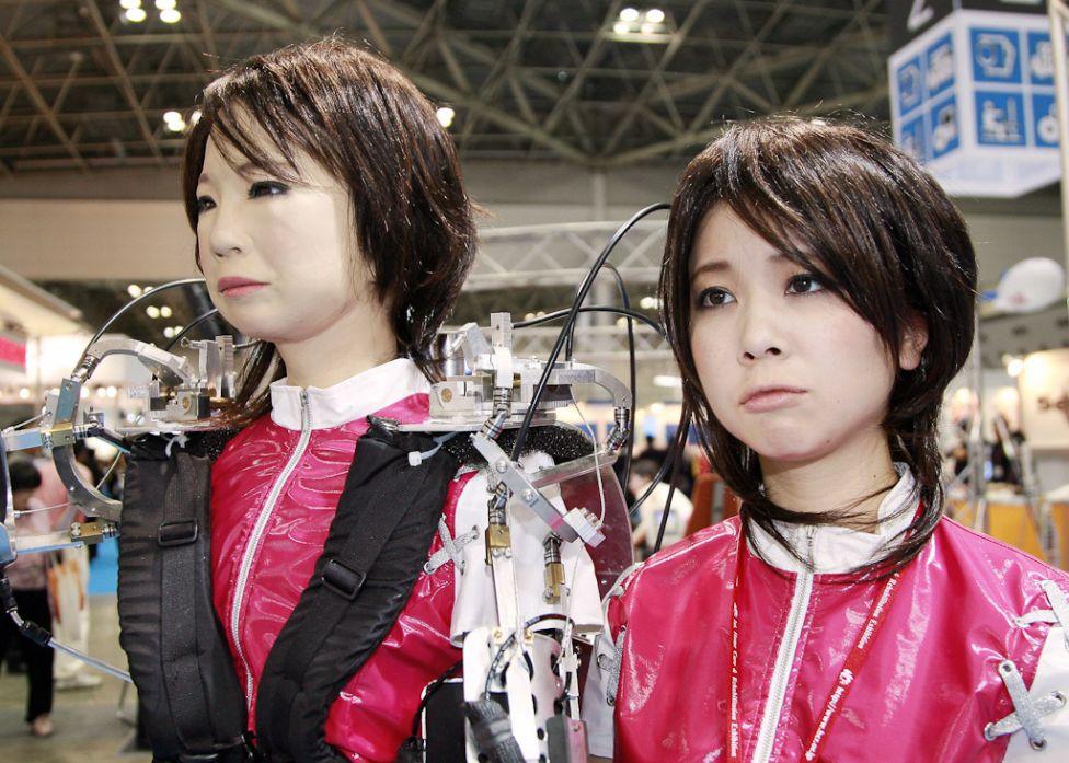 480 Стирая границу между роботом и человеком