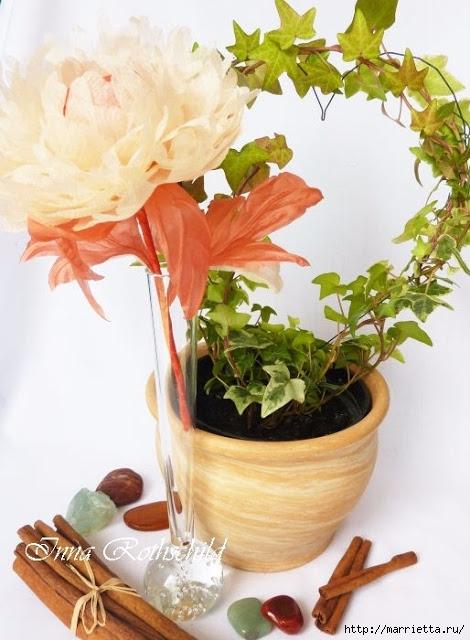 Цветы из шелка от Inna Rothschild (5) (470x640, 192Kb)