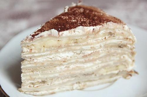 Торт «Минутка» без выпечки.