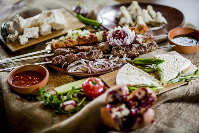 Грузинская кухня для здоровья
