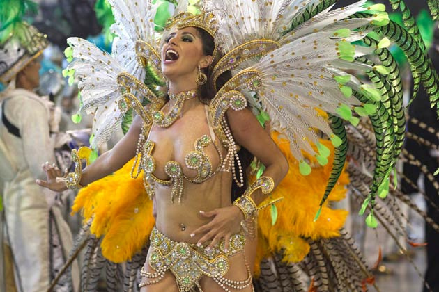 Бразильский карнавал 2012