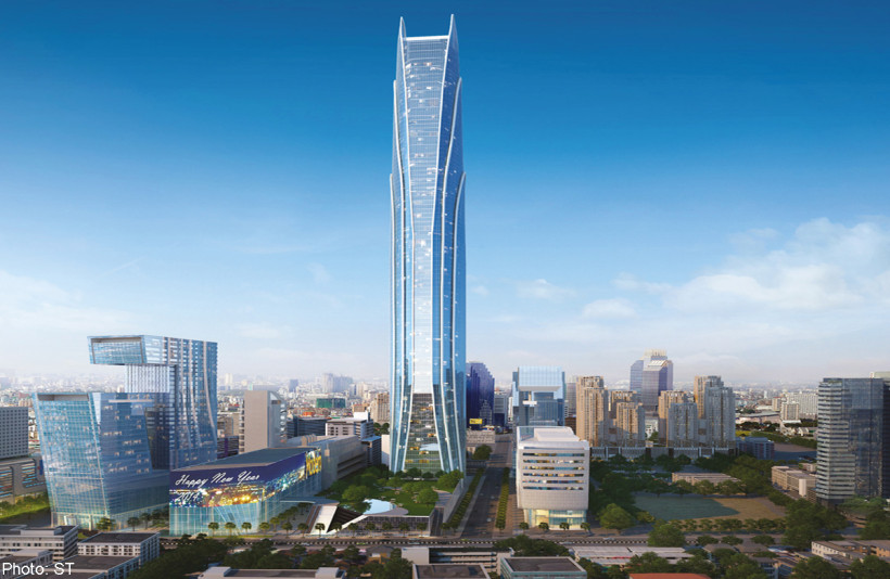 Rama IX Super Tower в Бангкоке, Таиланд