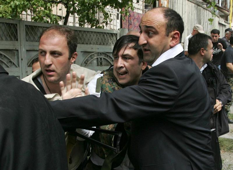 Насчет захвата Саакашвили в Одессе