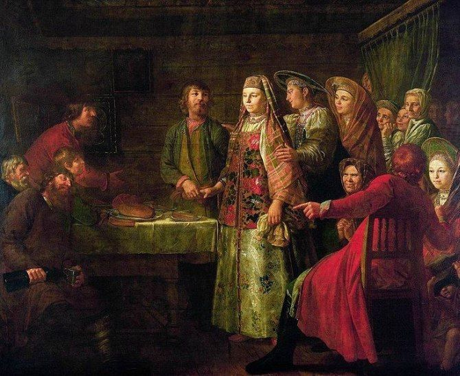 Десять свадебных традиций на Руси