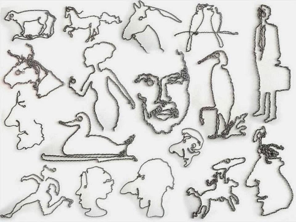 Виктор Нунес - Рисунки из чепочек