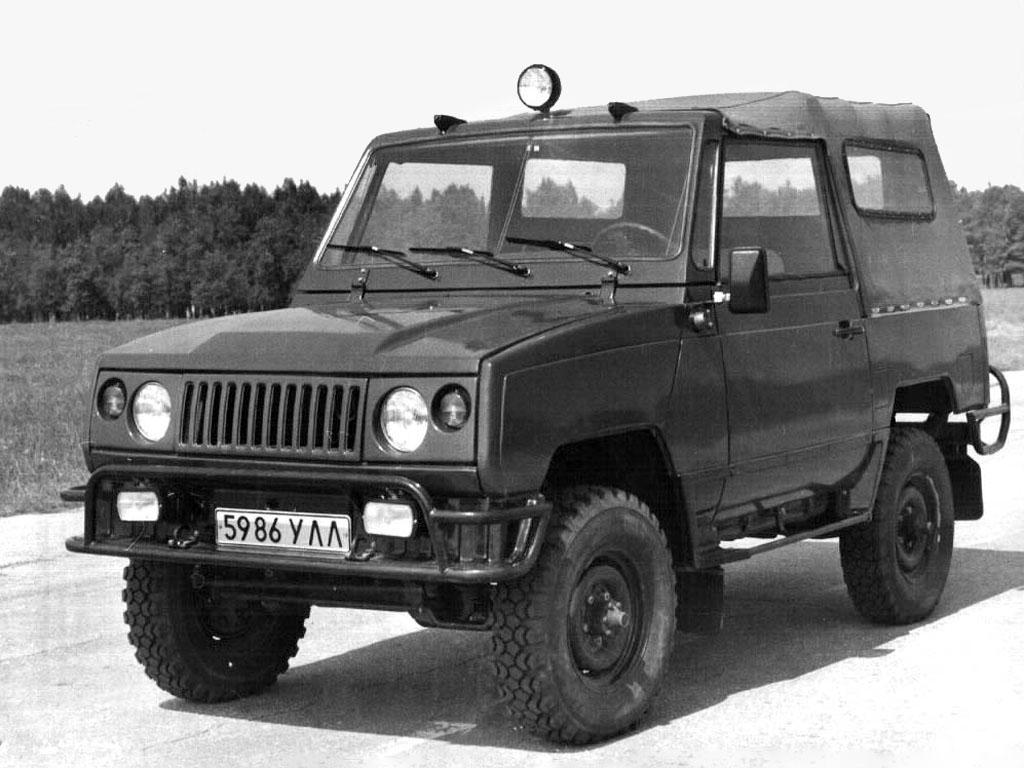 Необычные модели Ульяновского завода концепт, прототип, уаз