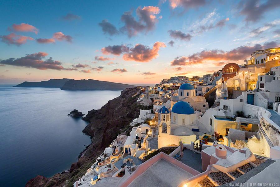 2. Санторини, Греция в мире, фото, фотограф
