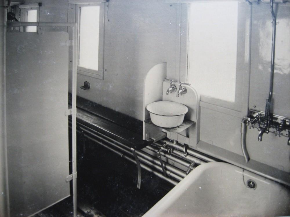 8. Вагон-баня.