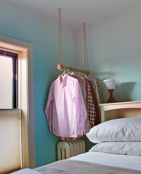 A-Ceiling-Hung-Garment-Rack