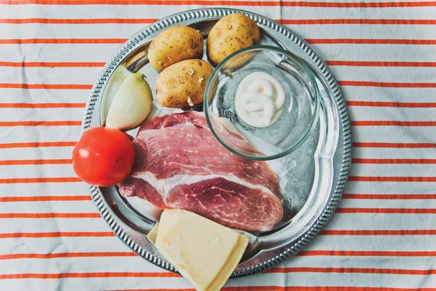 Мясо   по-французски: пошаговый рецепт