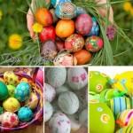 Красим яйца к Пасхе (подборка)