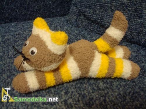 Кошка из носков своими руками / Подарки, сувениры и 55