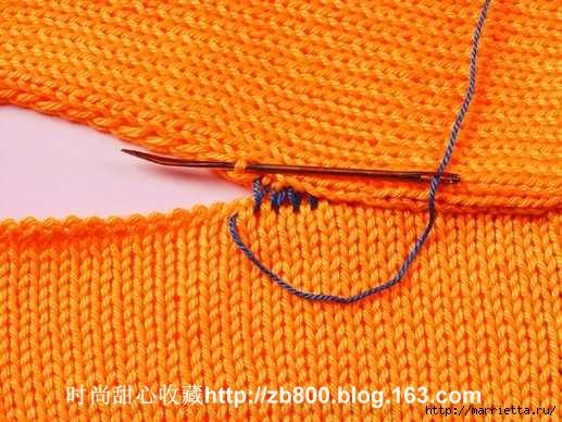 Способы соединения вязаных спицами деталей (21) (517x388, 176Kb)