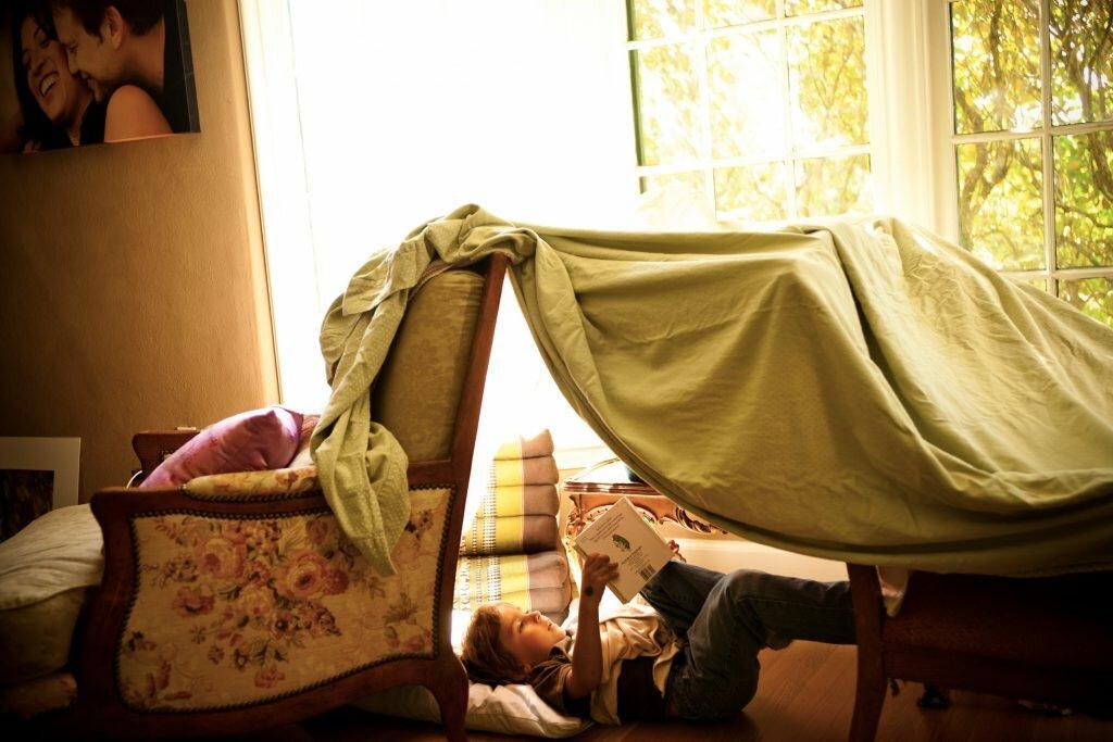 а вы в детстве строили такой шалаш?