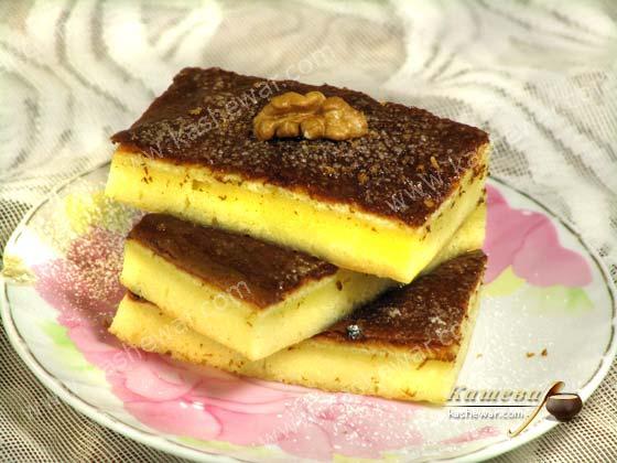 Бисквит из манной крупы – рецепт с фото, советская кухня