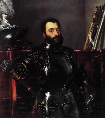 Тициан. Портрет Франческо Мария делла Ровере