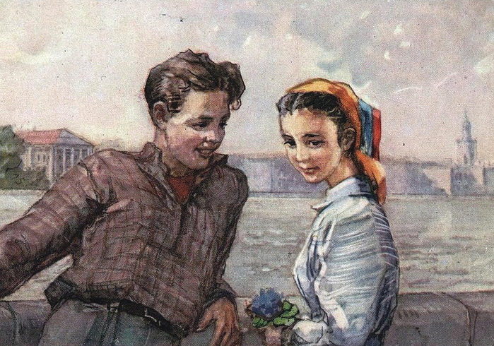 Тема «Свидания» в советской живописи