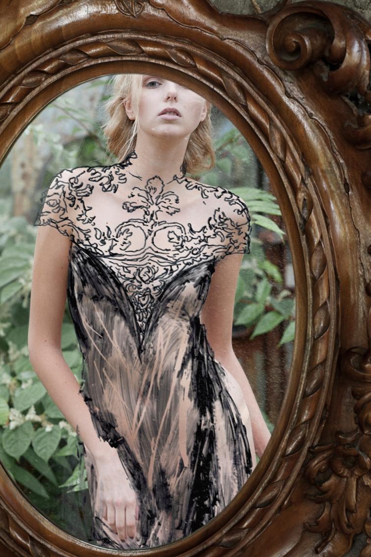 Кажется, эта девушка просто примеряет платье. Но ты удивишься, узнав, что это на самом деле...