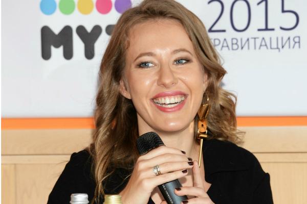 Ксения Собчак официально объявила об участии в президентской гонке