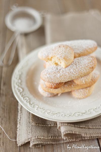 Печенье Савоярди / Savoiardi
