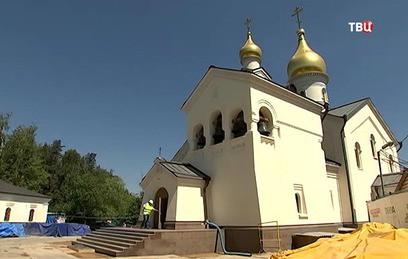 На западе Москвы строят храм в честь Казанской иконы Божией Матери
