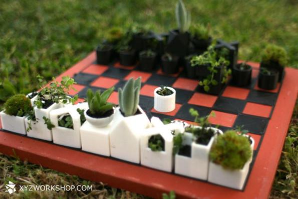 Идея для шахматных баталий на природе