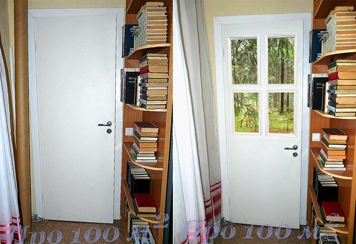 Старая дверь обновить фото