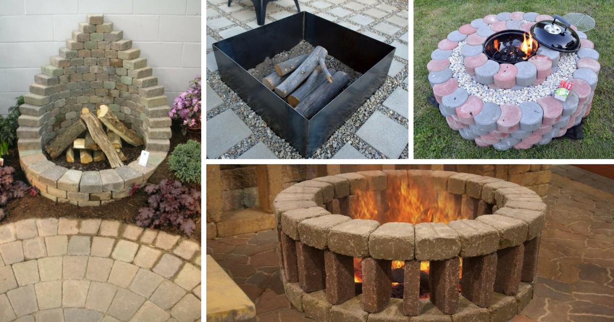 Оригинальные способы создать удобную жаровню для барбекю