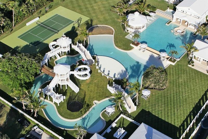 Celine dions florida water park mansion pictures