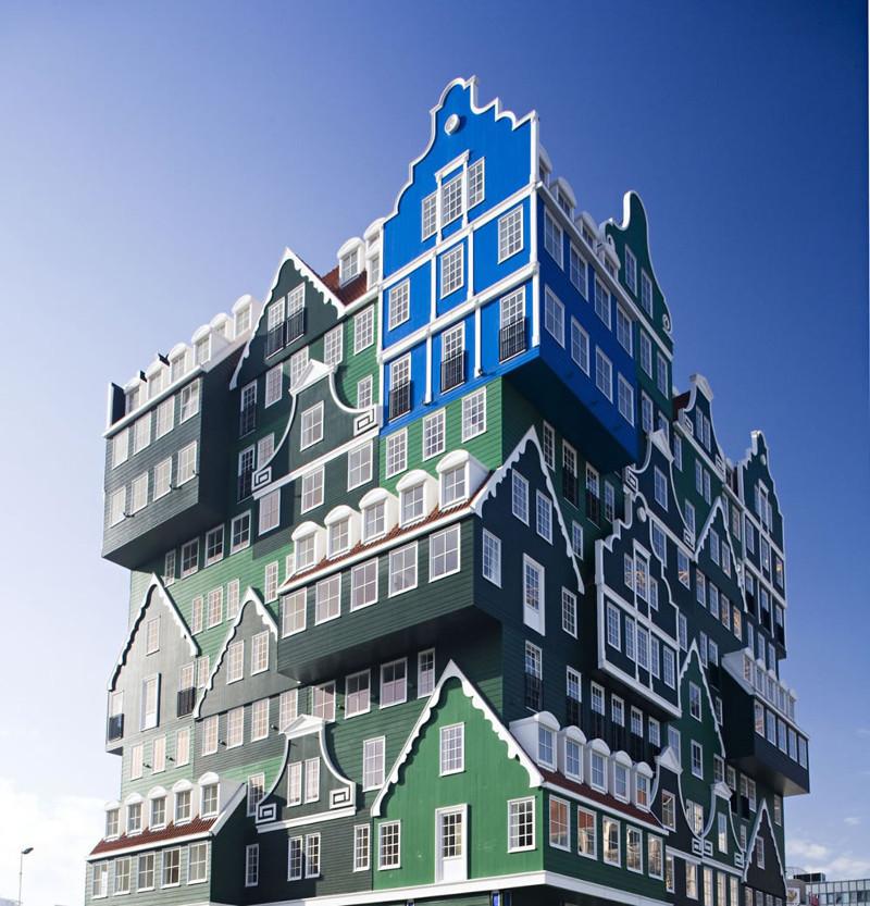 Удивительная архитектура Амстердама