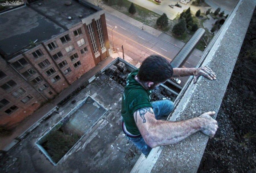 Подборка фотографий людей, которым не хватает адреналина