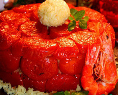 Пирог с рыбой - рецепт без теста