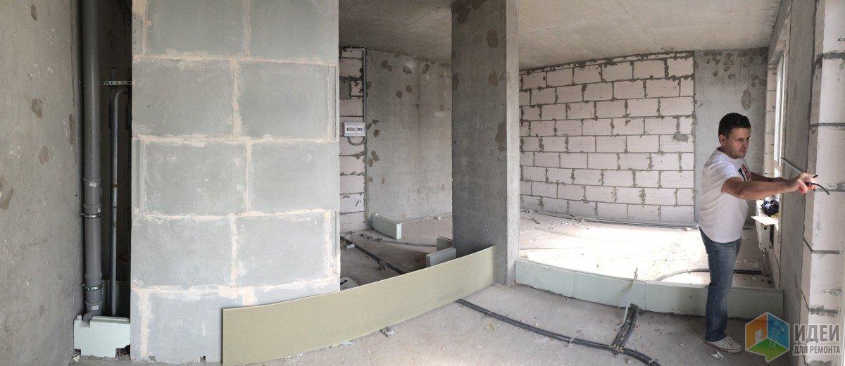 Квартира-студия перепланировка, квартира со свободной планировкой