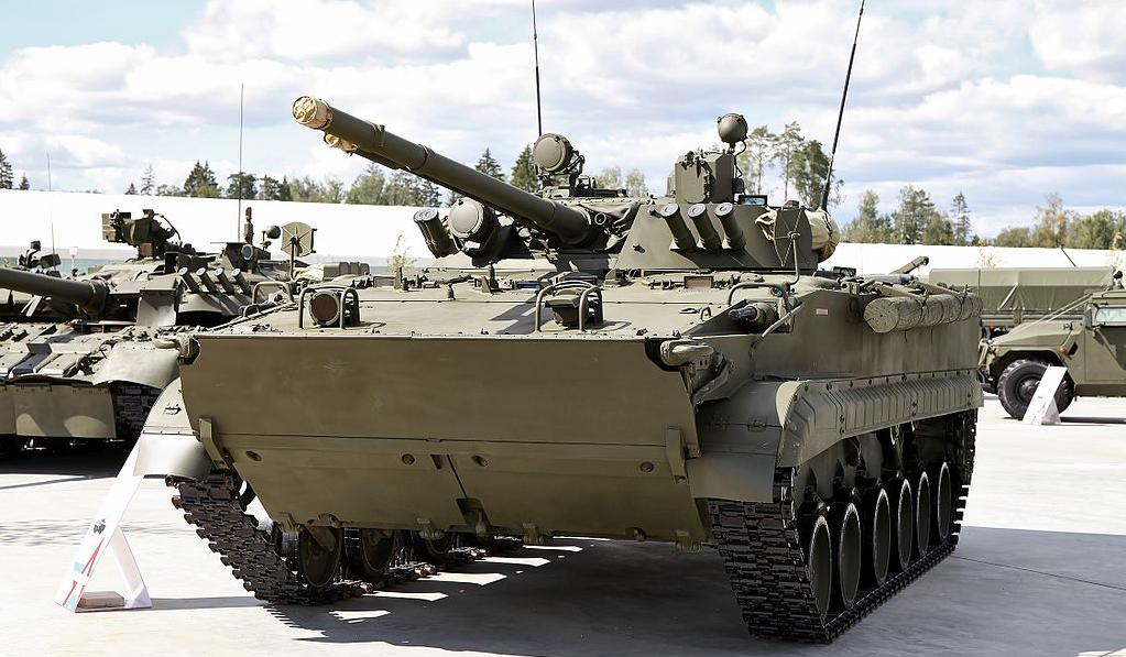 Новые БМП-3 опробованы росси…