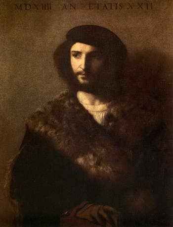 Тициан. Портрет больного