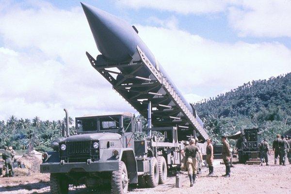 Российская баллистическая ракета на кубинском острове