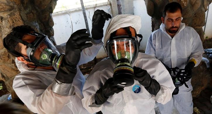 В МИД РФ встревожены полученными сведениями о готовящихся провокациях с химическим оружием в Сирии