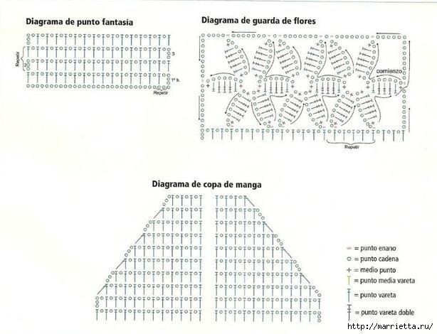 Длинный летний кардиган крючком (1) (614x470, 149Kb)