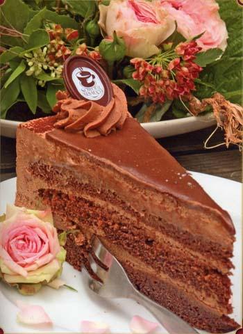 Торт шоколадный «Пралине» (Schoko-Pralinen)