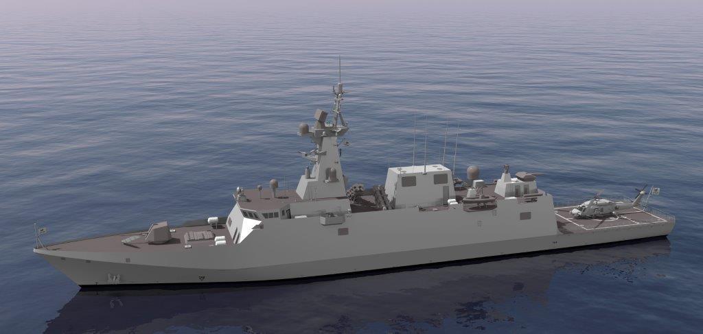 Начато строительство головного корвета проекта Avante 2200 для Саудовской Аравии